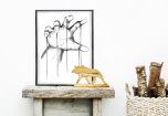 Poster Hand Marionett
