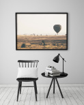 Poster Luftballong på Savannen