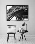 Poster Eiffeltornet Närbild