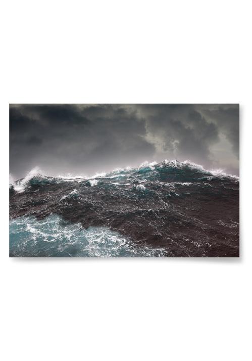 Poster Stormigt Hav