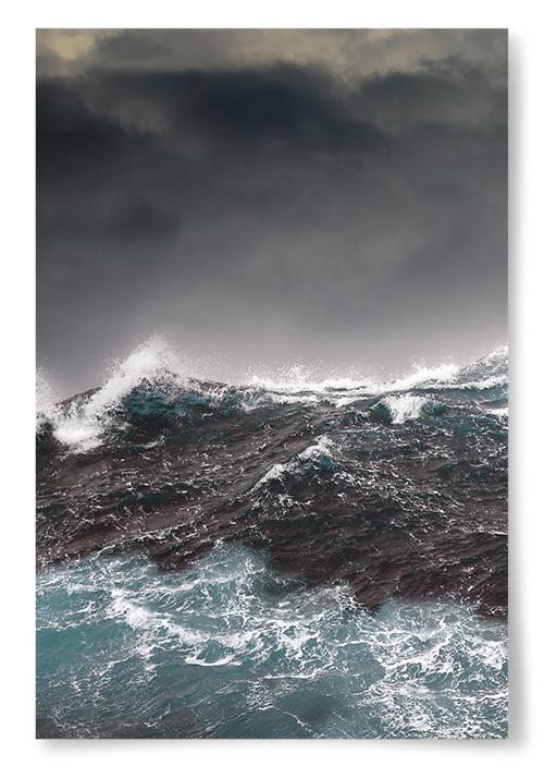 Poster Livligt Hav