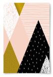 Poster Triangelmönster