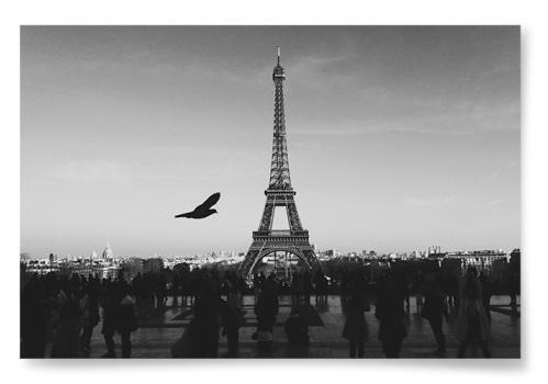 Poster Eiffeltornet Fotokonst