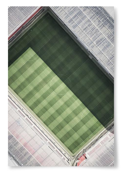 Poster Fotbollsarena