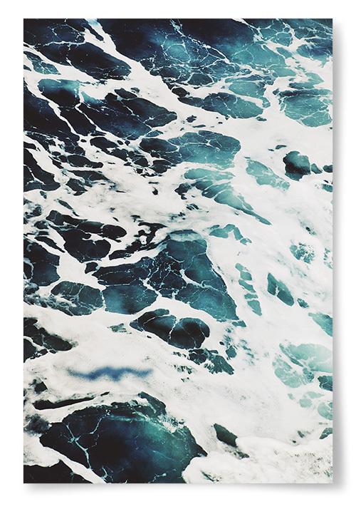 Poster Skummande Hav