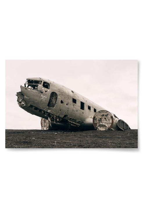 Poster Flygplansvrak