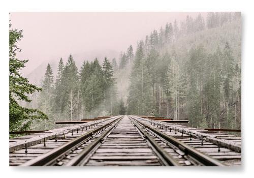 Poster Järnvägsbro