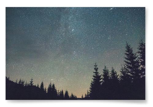 Poster Stjärnlandskap