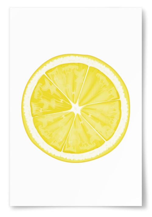 Poster Citronskiva