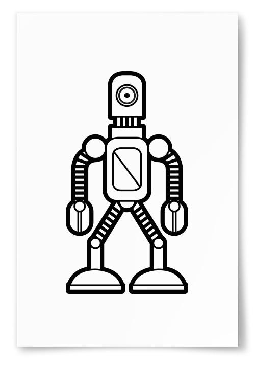 Poster Enögd Robot