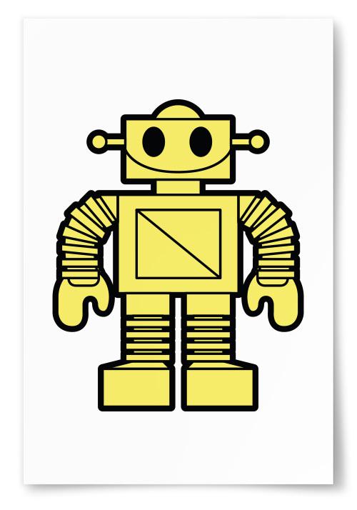 Poster Robot Gul