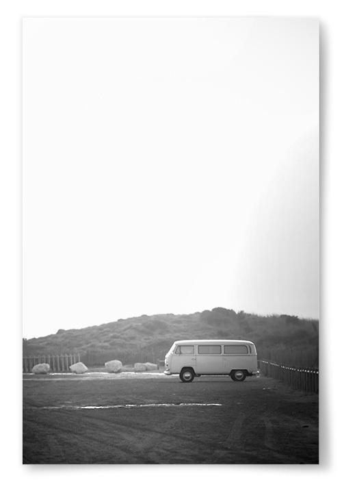 Poster Folkvagnsbuss Fotokonst