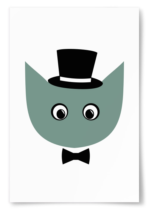 Poster Figur Fluga
