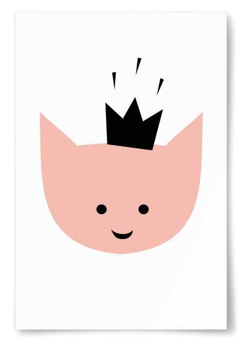Poster Figur Krona