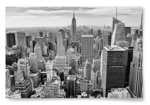 Poster New York Svartvit