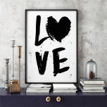 "Poster ""Love"""
