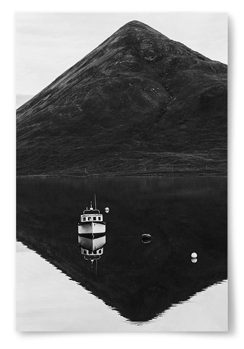 Poster Gammal Båt