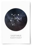 Poster Stjärntecken Skytten