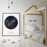 Poster Stjärntecken Skorpionen
