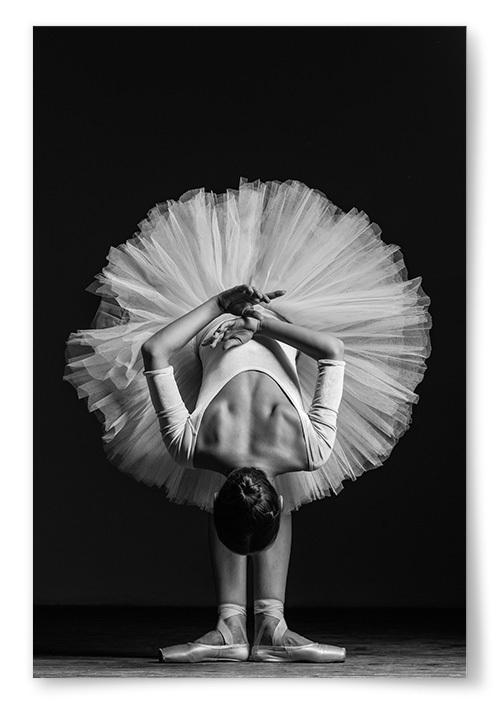 Poster Balettdansös