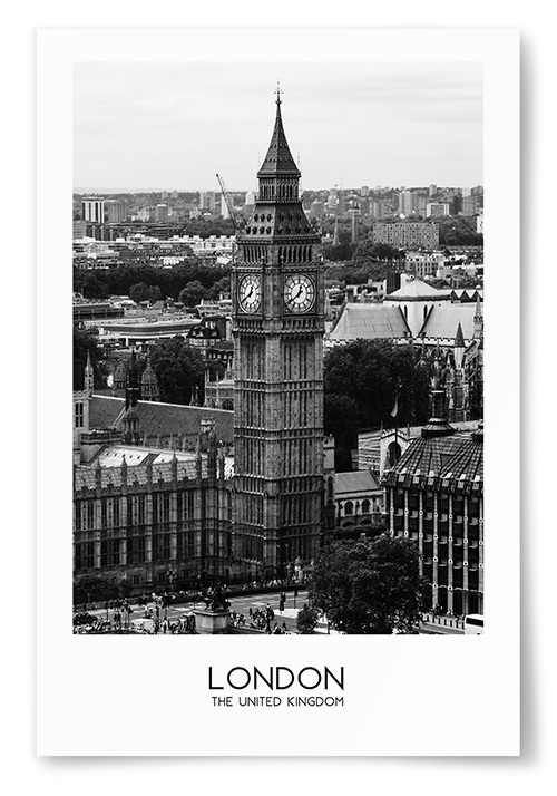 Poster London The United Kingdom