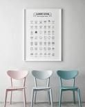 Poster Tvättguide