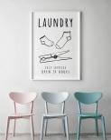 Poster Tvättstuga