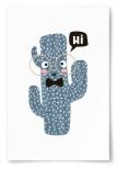 Poster Kaktus Hi