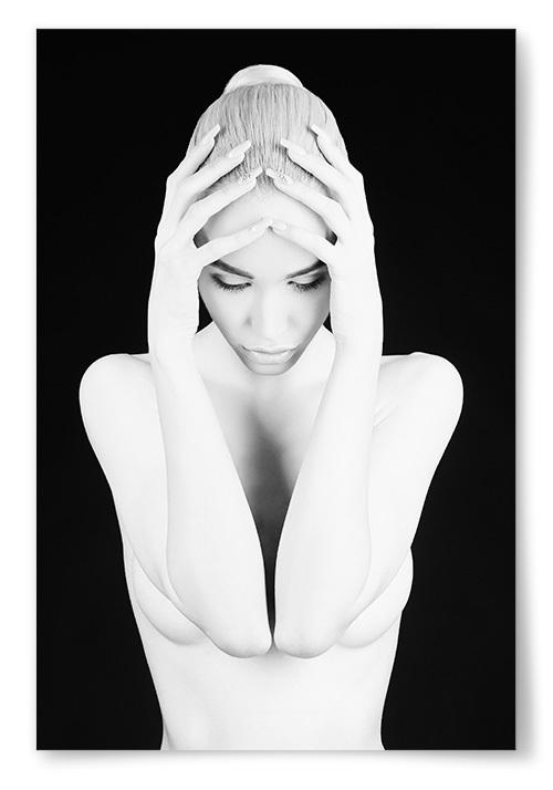 Poster Fotokonst Kvinna No4