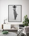 Poster Kvinna i Öknen
