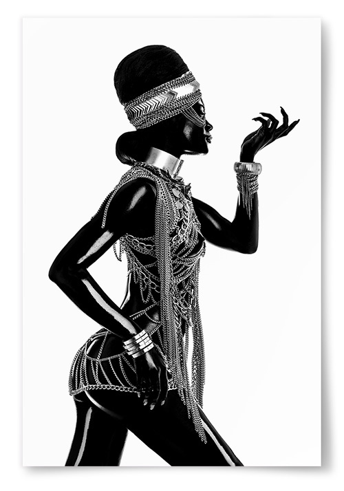 Poster Afrikansk Tribal Fashion