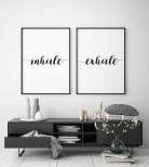 """Poster """"Exhale"""""""