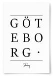 Poster Göteborg