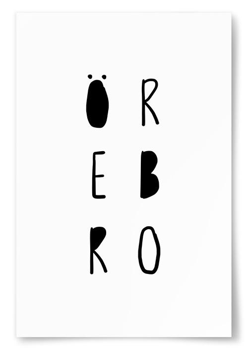 Poster Örebro Text