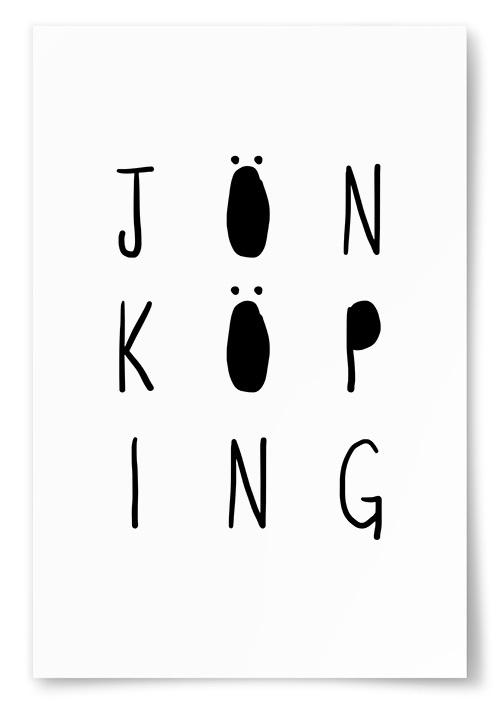 Poster Jönköping Text