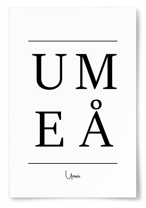 Omtalade Poster Umeå VH-86