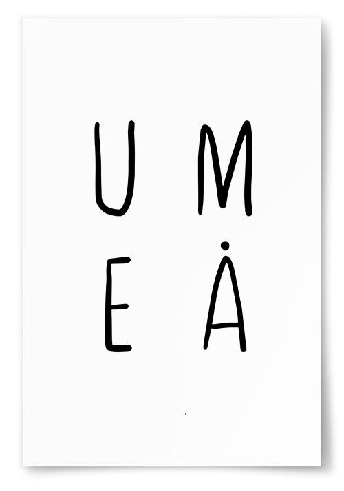 Poster Umeå Text