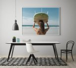 Poster Surf Girl
