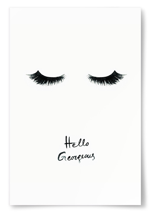 Poster Hello Gorgeous