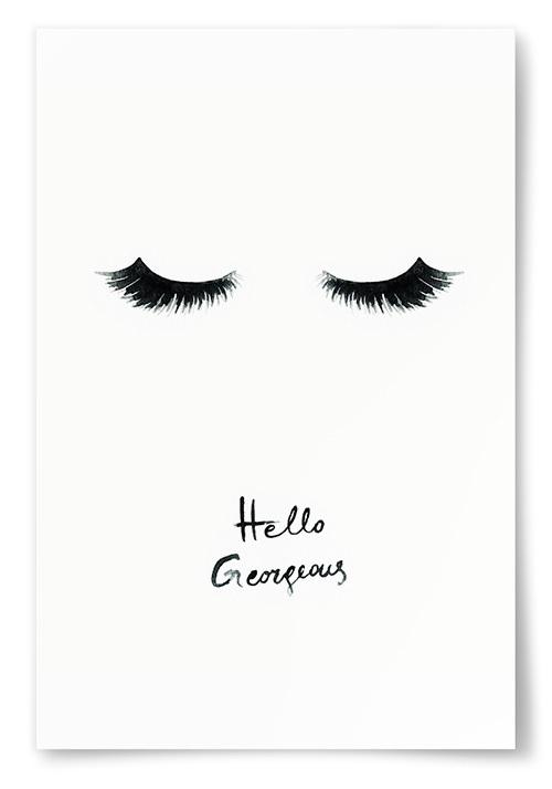Poster Hello Gorgeous