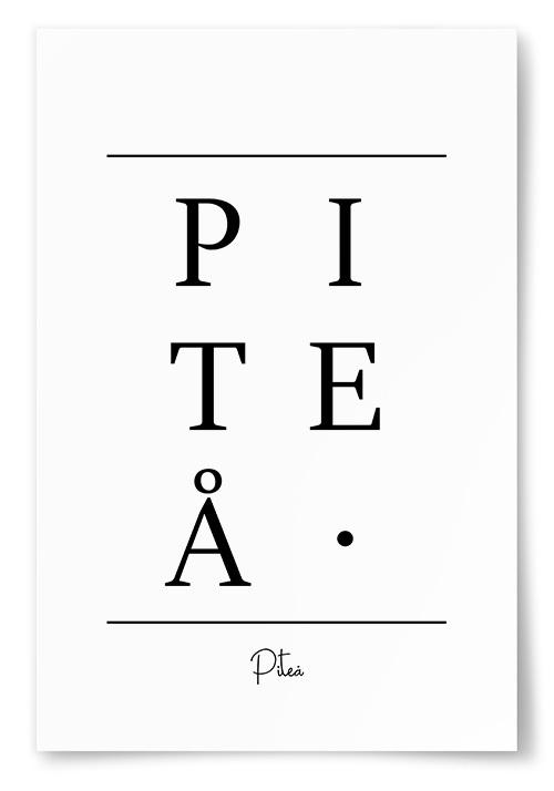 Poster Piteå