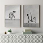 Poster Dansare på Tå