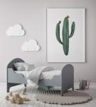 Poster Kaktus Akvarell No.1
