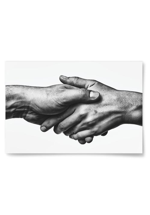 Poster Handslag