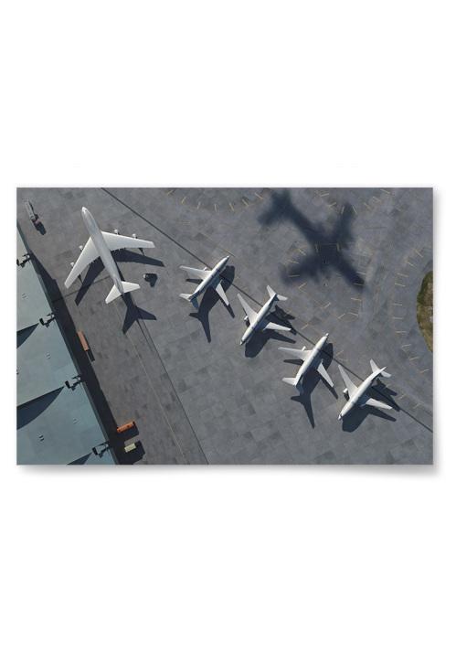 Poster Flygplan