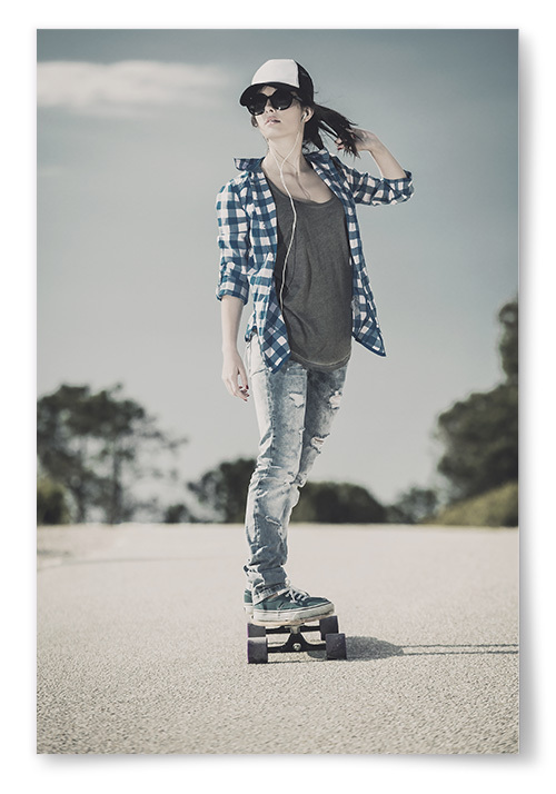 Poster Skateboardåkare