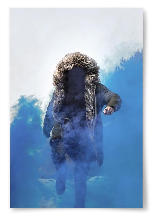Poster Mystisk Person