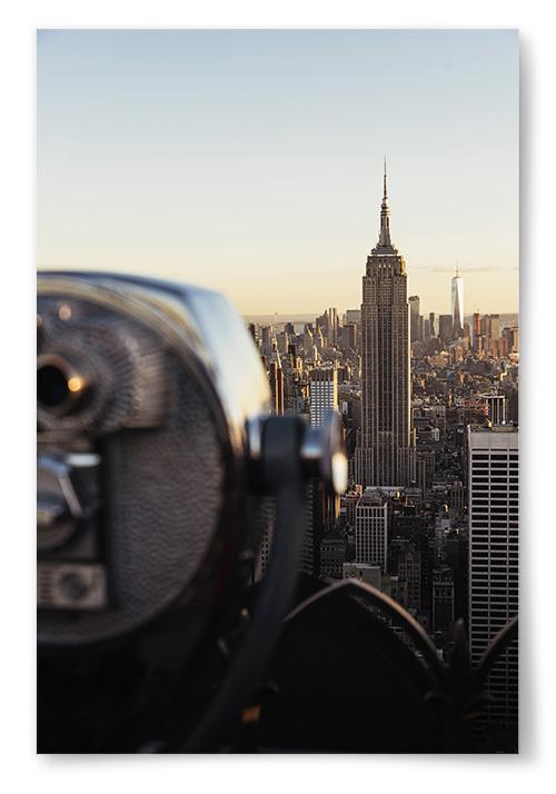 Poster Utsikt New York
