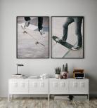 Poster Skateboard Trick