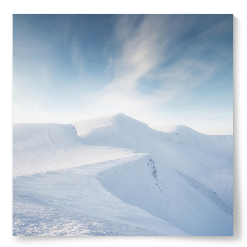 Poster Snölandskap